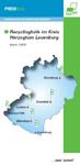 Bild Deckblatt Recyclinghöfe Kreis Herzogtum Lauenburg mit Link zur PDF